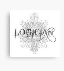 Logician At Work Metal Print