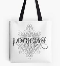 Logician At Work Tote Bag