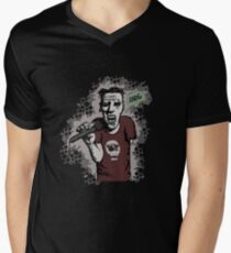 Zombi-oke Men's V-Neck T-Shirt