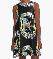 Gan's Gym - vintage A-Line Dress