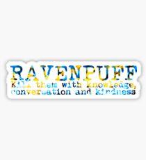 Ravenpuff Quote NEW Sticker