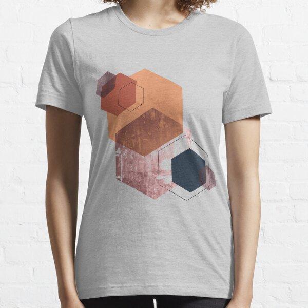 Geometric Nordic Design Art Essential T-Shirt