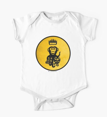 King Octochimp Says Hi Kids Clothes