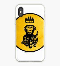King Octochimp Says Hi iPhone Case
