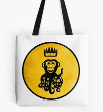 King Octochimp Says Hi Tote Bag