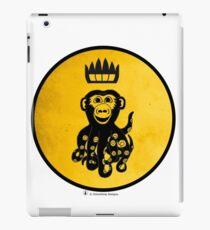 King Octochimp Says Hi iPad Case/Skin
