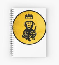 King Octochimp Says Hi Spiral Notebook