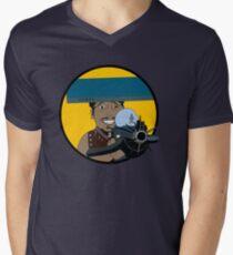 Z-140 (Alleviated titanium. Neurocharged assault model) Mens V-Neck T-Shirt