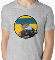 Z-140 (Alleviated titanium. Neurocharged assault model) Men's V-Neck T-Shirt