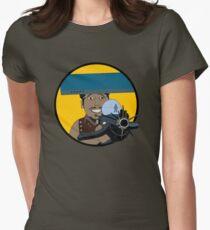 Z-140 (Alleviated titanium. Neurocharged assault model) Women's Fitted T-Shirt
