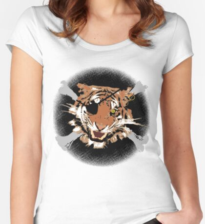 Jungle Piracy Women's Fitted Scoop T-Shirt