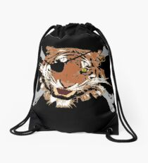 Jungle Piracy Drawstring Bag