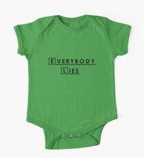 Everybody lies and everybody dies. One Piece - Short Sleeve