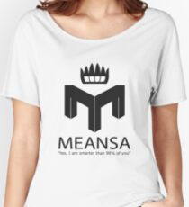 meansa Women's Relaxed Fit T-Shirt