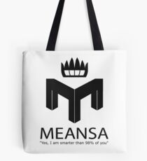 meansa Tote Bag