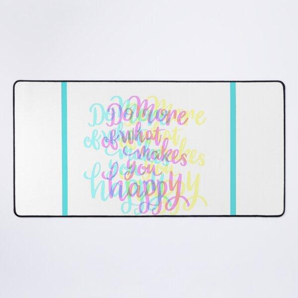 Happy Desk Mat