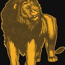 Lone Lion by Cheerful Madness!! by cheerfulmadness