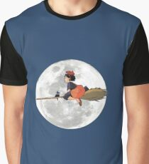 Kiki's Delivery Service (1989) Graphic T-Shirt