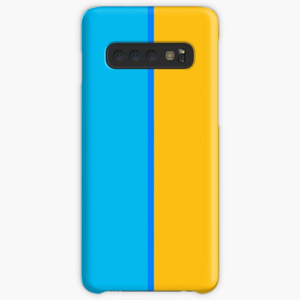 Franklin Blue and Keystone Gold Vertically-Striped Samsung Galaxy Snap Case