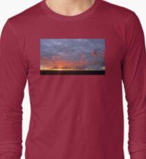 Amazing Sunset Clouds Long Sleeve T-Shirt