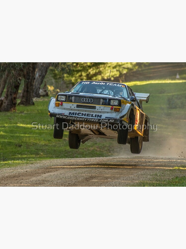 Flying Audi Quattro S1 by StuBear22
