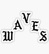 Waves - The Life of Pablo Sticker