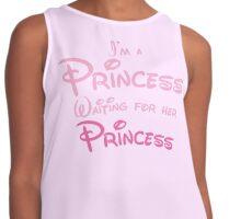 I'm a princess waiting for her PRINCESS Contrast Tank