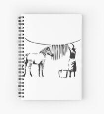 Banksy Spiral Notebook