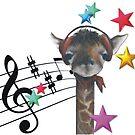 Music giraffe by Marianna Vencak