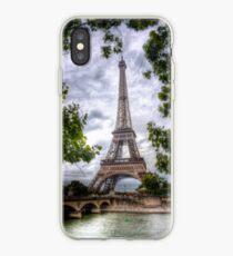 Eiffel Tower Framed iPhone Case