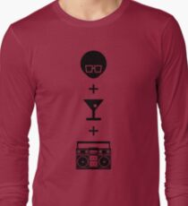 Formula for a Pre-party Long Sleeve T-Shirt
