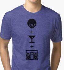 Formula for a Pre-party Tri-blend T-Shirt