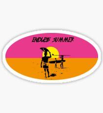 ENDLESS SUMMER - CLASSIC SURF MOVIE Sticker