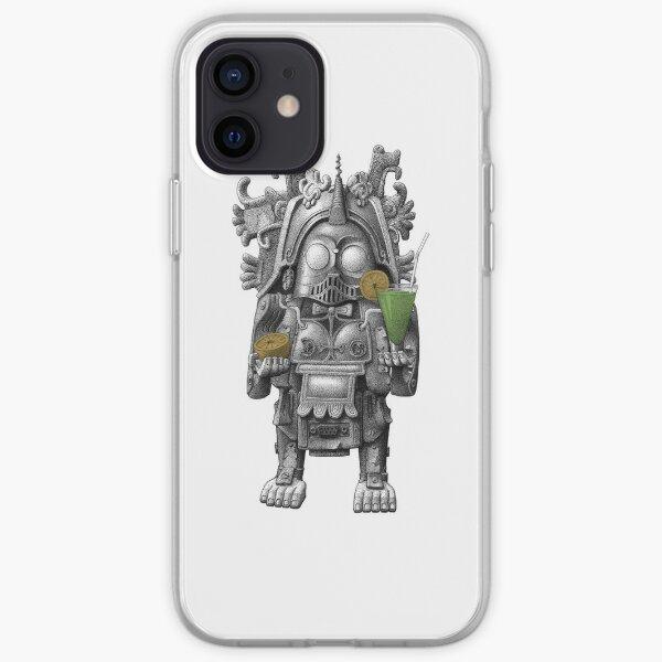 Guzmán, the Totem of Cocktail Robotics iPhone Soft Case