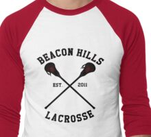 Beacon Hills Lacrosse Men's Baseball ¾ T-Shirt