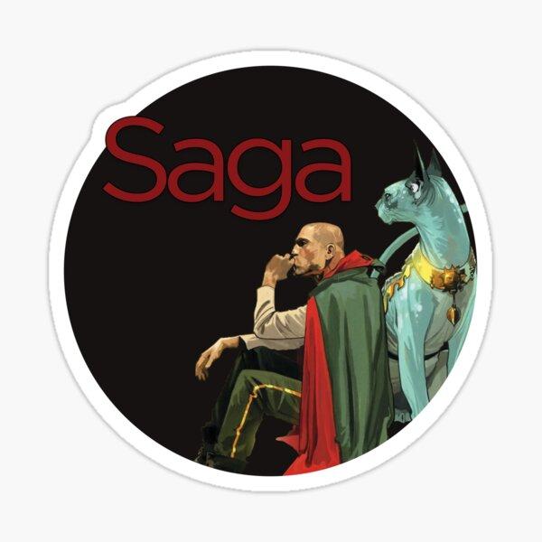 Saga - The Will Sticker