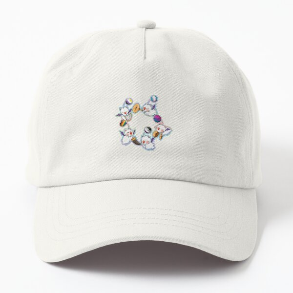 Pride-Mogs - FF114 moogles to support pride (rainbow, asexual, bisexual, trans, non-binary)  Dad Hat