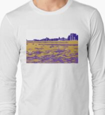 Seaview Kingsway in Purple Long Sleeve T-Shirt