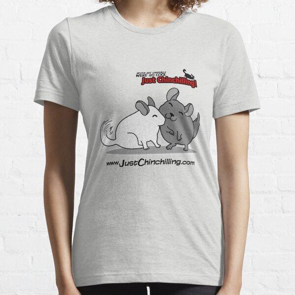 """Just Chinchilling!"" Friendly Chinchillas Essential T-Shirt"