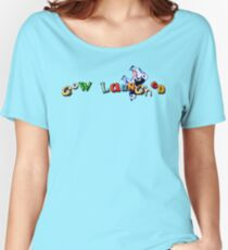 Earthworm Jim - Cow Launched Women's Relaxed Fit T-Shirt