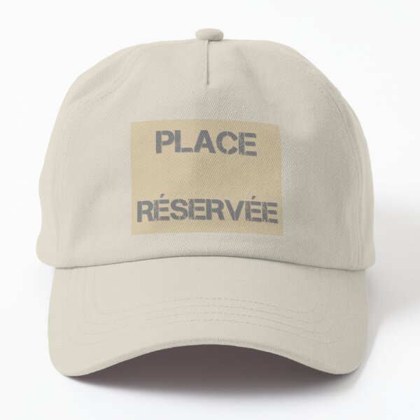 Reserved seat Dad Hat
