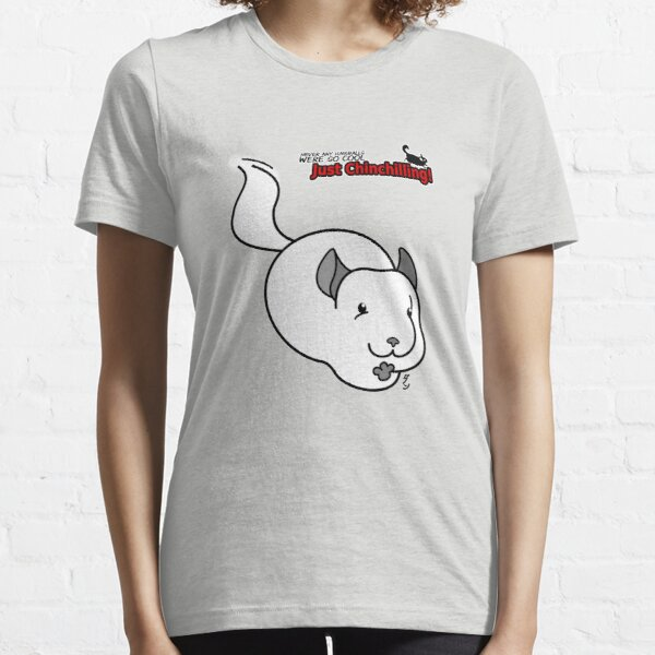 """Just Chinchilling!"" Shiro the runner Essential T-Shirt"