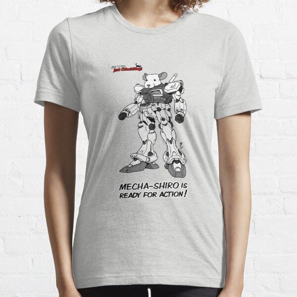 """Just Chinchilling!"" Mecha-Shiro Essential T-Shirt"