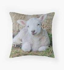 Bunny face Throw Pillow