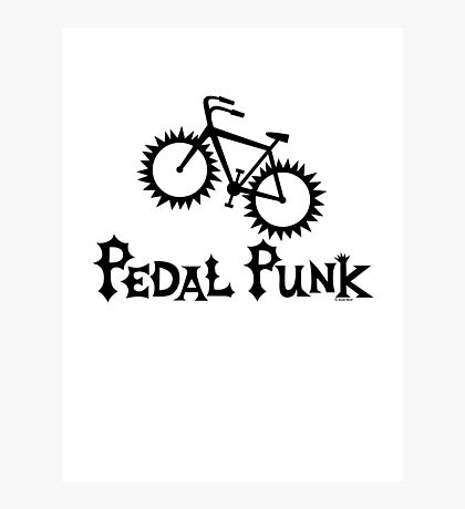 Pedal Punk  Photographic Print