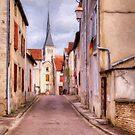 Rue Victor Hugo - Mussy sur Seine - France by Jean-Pierre Ducondi