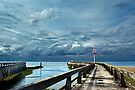 Jetty and Sky by cclaude