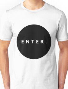 Basic Enter Circle  Unisex T-Shirt