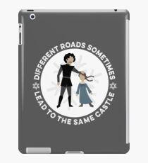 Different Roads Sometimes Lead To The Same Castle iPad Case/Skin