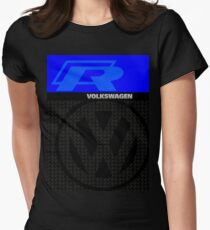 Volkswagen R Graphic Design Womens Fitted T-Shirt